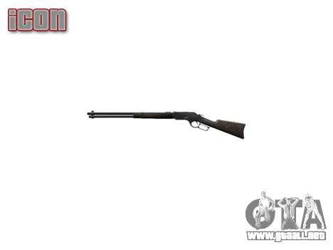 El Rifle Winchester Modelo 1873 icon1 para GTA 4 tercera pantalla