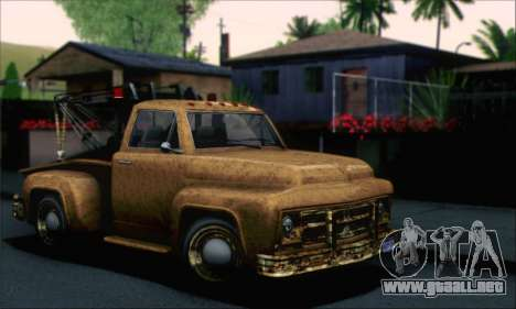 GTA 5 Towtruck Worn para GTA San Andreas