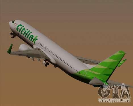 Boeing 737-800 Citilink para las ruedas de GTA San Andreas