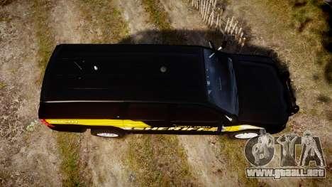 Chevrolet Suburban [ELS] Rims1 para GTA 4 visión correcta
