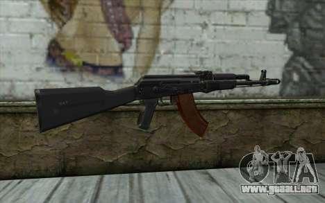 El AK-103 para GTA San Andreas segunda pantalla