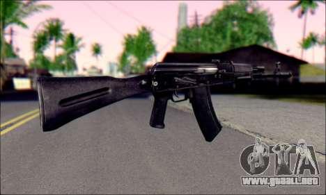 EL AK-74M para GTA San Andreas segunda pantalla