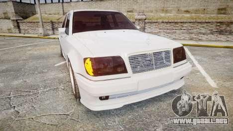 Mercedes-Benz E500 1998 Tuned Wheel White para GTA 4