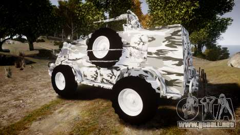 GAZ-3937 Vodnik para GTA 4 left