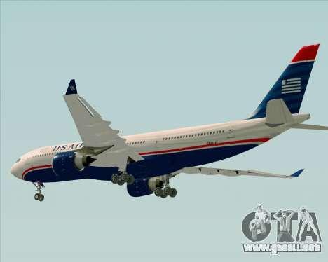 Airbus A330-200 US Airways para el motor de GTA San Andreas