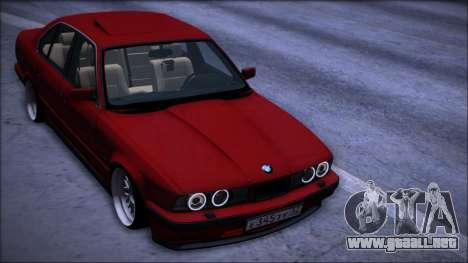 BMW 525i E34 para visión interna GTA San Andreas