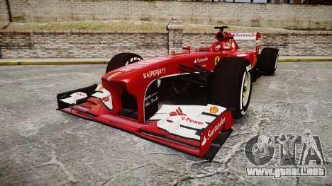 Ferrari F138 v2.0 [RIV] Massa TMD para GTA 4