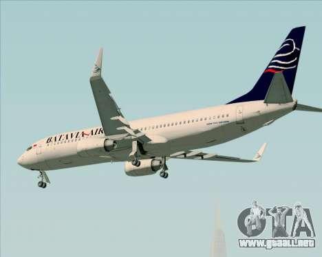 Boeing 737-800 Batavia Air para el motor de GTA San Andreas