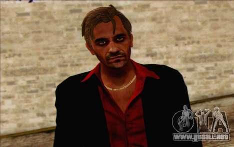 Hoyt Volker (Far Cry 3) para GTA San Andreas tercera pantalla