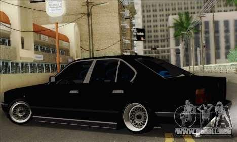 BMW 535 JDM Bosnia para GTA San Andreas left