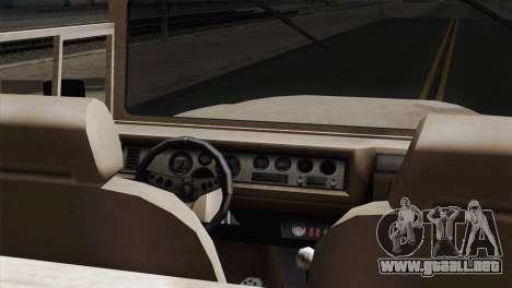 Canis Bodhi V1.0 Army para GTA San Andreas vista posterior izquierda