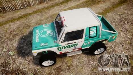 Suzuki Samurai para GTA 4 visión correcta