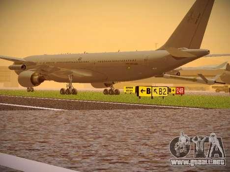 Airbus KC-45A (A330-203) Australian Air Force para la visión correcta GTA San Andreas