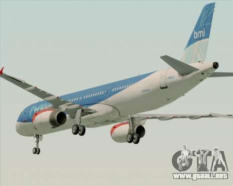 Airbus A321-200 British Midland International para GTA San Andreas