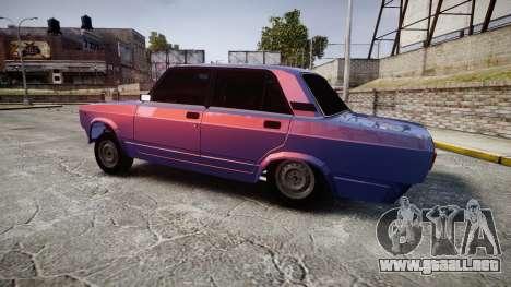 VAZ-2105 hooligan de estilo para GTA 4 left