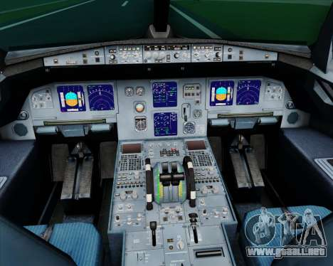 Airbus A321-200 Myanmar Airways International para GTA San Andreas interior