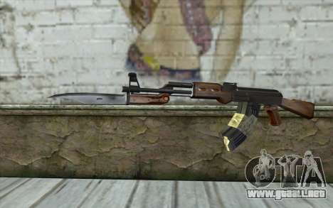 AK47 from Firearms v1 para GTA San Andreas