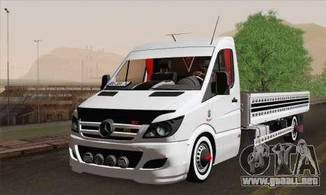 Mercedes-Benz Sprinter Etiket Kamyonet para GTA San Andreas