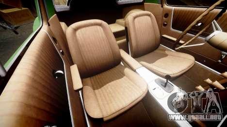 Chevrolet Corvette Stingray 1963 para GTA 4 vista lateral