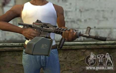Pistola De Ares Shrike para GTA San Andreas tercera pantalla