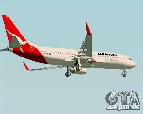 Boeing 737-838 Qantas (Old Colors) para las ruedas de GTA San Andreas