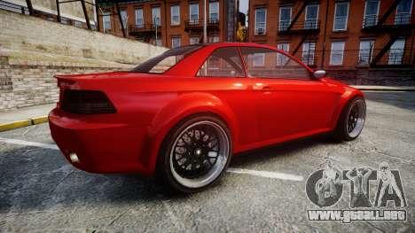 GTA V Ubermacht Sentinel XS para GTA 4 left