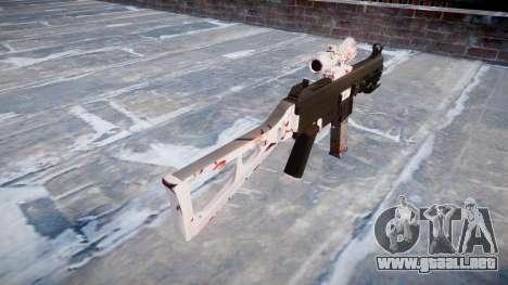 Pistola de UMP45 de los Cerezos en flor para GTA 4 segundos de pantalla
