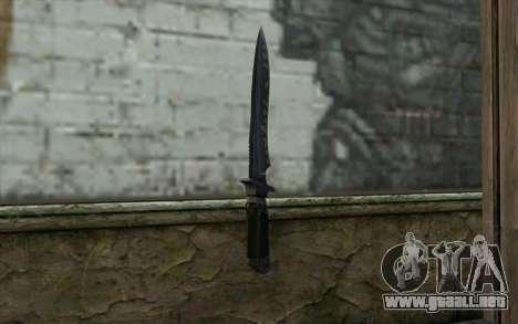 Knife from CS:S Bump Mapping v2 para GTA San Andreas segunda pantalla