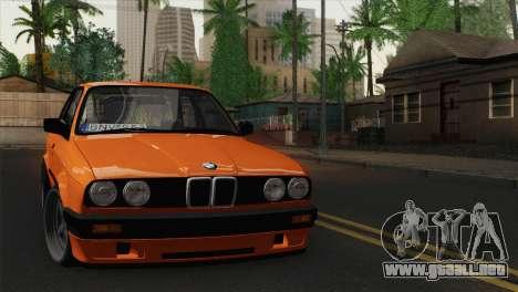 BMW M3 E30 Coupe 1987 para GTA San Andreas