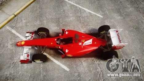 Ferrari 150 Italia Track Testing para GTA 4 visión correcta