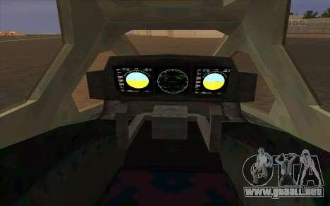HELO4 Future Hunter para la visión correcta GTA San Andreas