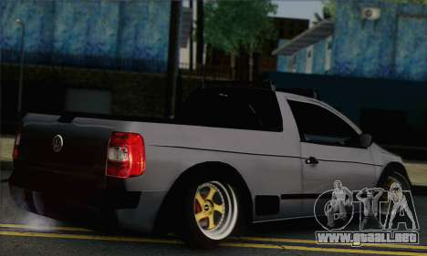 Volkswagen Saveiro Slammed para GTA San Andreas left