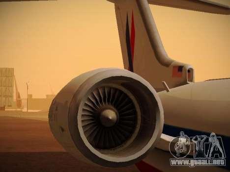 Bombardier CRJ-700 American Eagle para el motor de GTA San Andreas