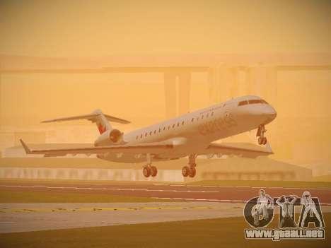 Bombardier CRJ-700 Air Canada Express para GTA San Andreas left