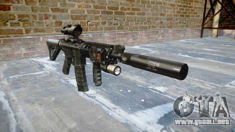 Máquina Táctico M4A1 CQB para GTA 4