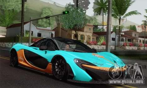 McLaren P1 HQ para la vista superior GTA San Andreas