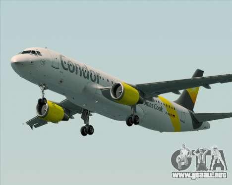 Airbus A320-212 Condor para las ruedas de GTA San Andreas
