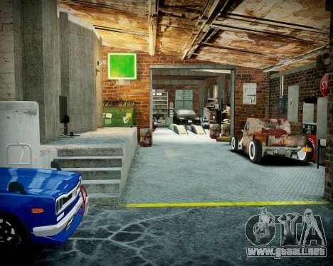Garaje con nuevo interior Alcalina para GTA 4 novena de pantalla