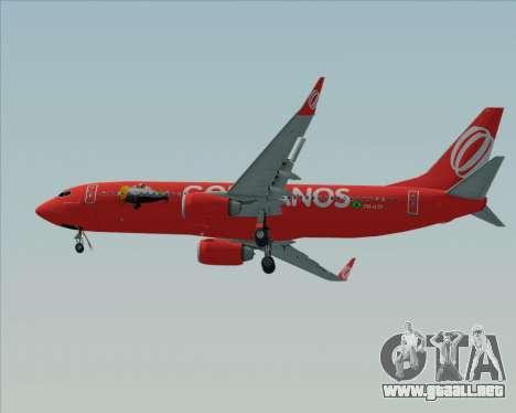 Boeing 737-800 de Gol Transportes Aéreos para visión interna GTA San Andreas