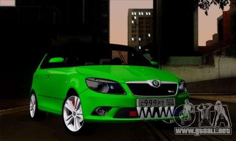 Skoda Fabia RS para GTA San Andreas