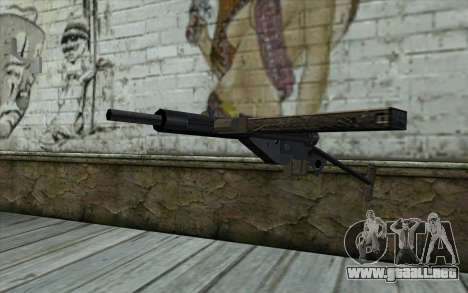 Sten from Day of Defeat para GTA San Andreas