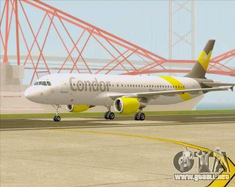 Airbus A320-212 Condor para visión interna GTA San Andreas