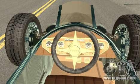 Audi Type C 1936 Race Car para GTA San Andreas vista posterior izquierda
