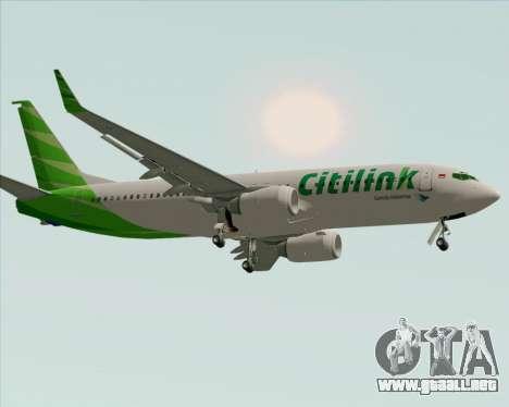 Boeing 737-800 Citilink para GTA San Andreas left