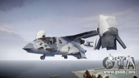 VTOL Warship PJ3 para GTA 4