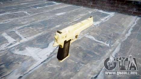 Пистолет Desert Eagle De Oro PointBlank para GTA 4 segundos de pantalla