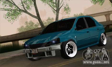 Dacia Logan 1.6 DJ para GTA San Andreas