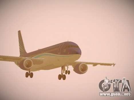 Airbus A320-214 Azerbaijan Airlines AZAL para GTA San Andreas left