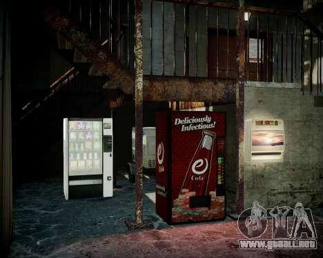 Garaje con nuevo interior Alcalina para GTA 4 séptima pantalla