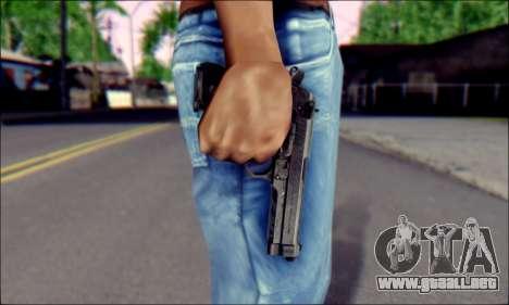 Beretta M92F para GTA San Andreas tercera pantalla